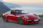 ポルシェ、「911 タルガ 4 GTS」と「カイエン ターボS」をデトロイトショーでワールドプレミア