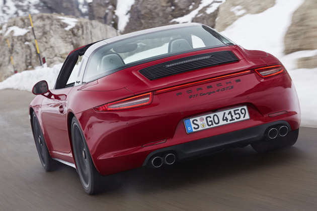 ポルシェ 新型 「911 Targa 4 GTS」(911タルガ 4 GTS)/走行イメージ