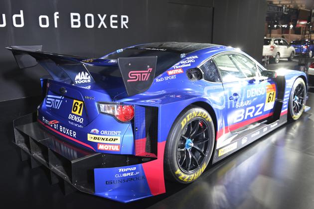 SUBARU BRZ GT300 2015