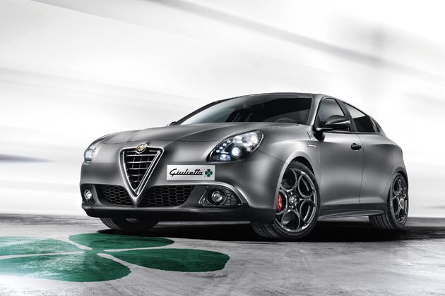 Alfa Romeo Giulietta Quadrifoglio Verde Launch Edition