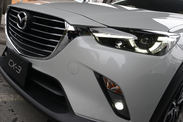 """間もなく発売!?マツダ CX-3のグレードとスペックが判明!ラインナップは""""ディーゼル""""のみ/渡辺陽一郎"""