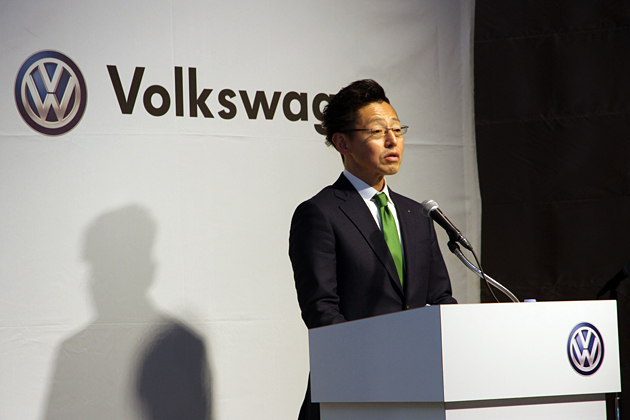 フォルクスワーゲン グループ ジャパン 株式会社 庄司茂 代表取締役社長代表