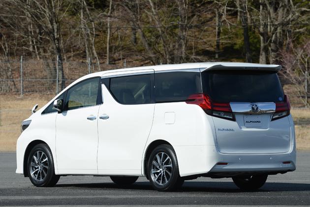トヨタ 新型アルファード ガソリンモデル
