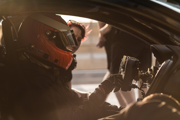 McLaren P1 GTRプロダクション・インテントモデル