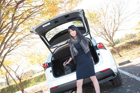「スポーツカー好きでしたけど、SUVの良さも実感しました」ときじゆりチャン。
