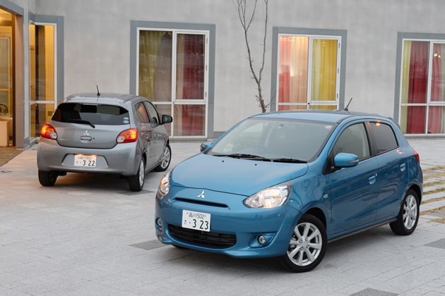 三菱 新型 ミラージュ「1.2G」(1.2リッター搭載モデル) 試乗レポート/まるも亜希子