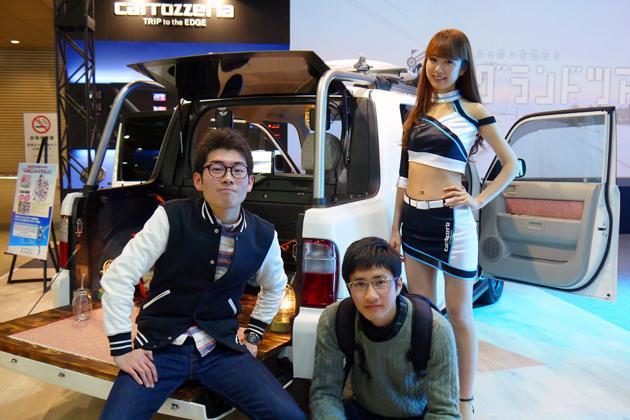 カロッツェリア×学生カーソムリエのコラボ車両、東京オートサロンでお披露目!【東京オートサロン2015】