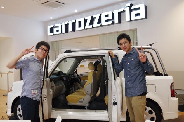 カロッツェリア×学生カーソムリエのコラボ車両、東京オートサロンでお披露目!