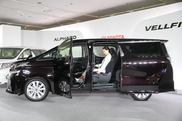 トヨタ 新型アルファード・ヴェルファイア
