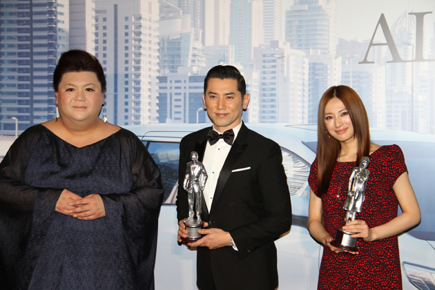 本木雅弘さん、北川景子さんとマツコ・デラックスさん