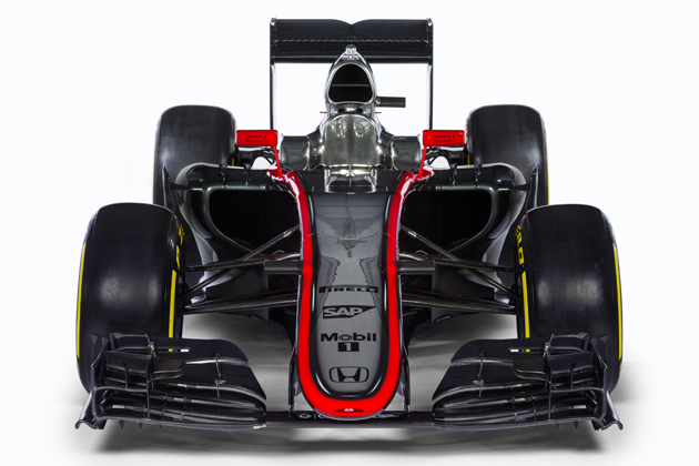 McLaren‐Honda 新型マシン「MP4‐30」