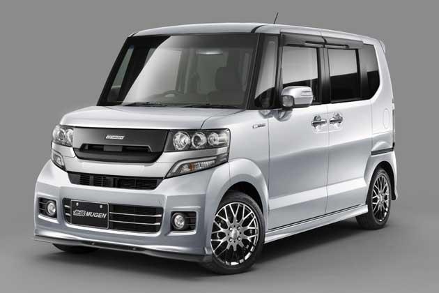ホンダ N-BOXカスタム 無限パーツ装着車
