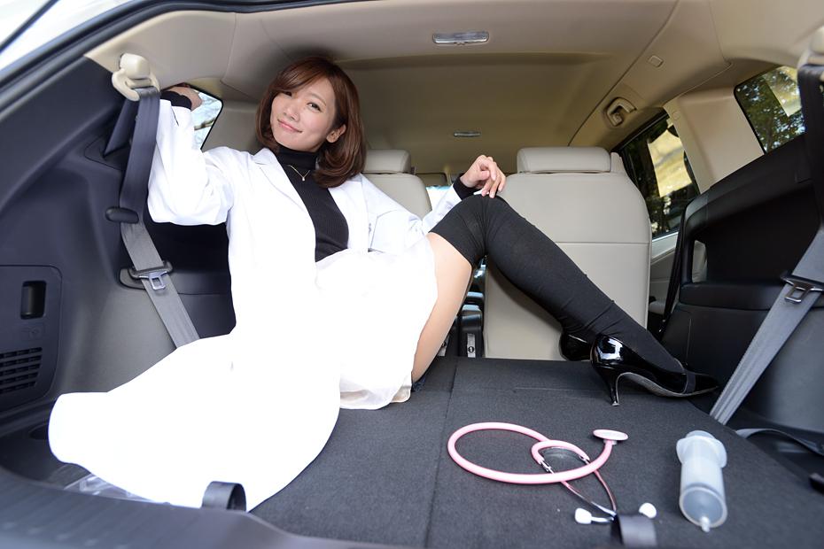 【女医】ホンダ ジェイド/真野淳子の新型車診察しちゃうぞ!