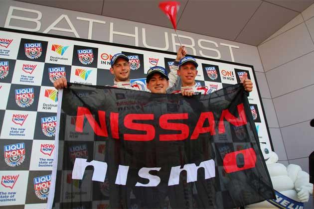 #35 NISSAN GT-R NISMO GT3(千代勝正/ウォルフガング・ライプ/フローリアン・ストラウス)