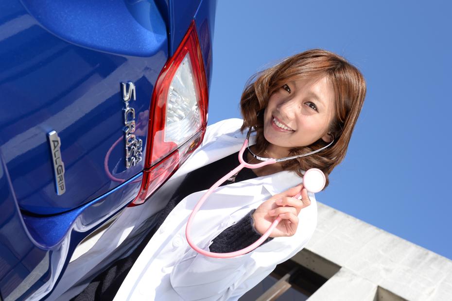 【女医】スズキ SX4 S-CROSS/真野淳子の新型車診察しちゃうぞ!