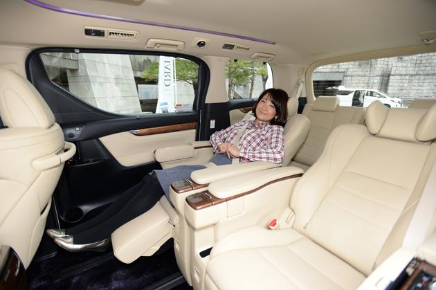 「豪華すぎるセカンドシート」に日本中の社長さんがときめいた!