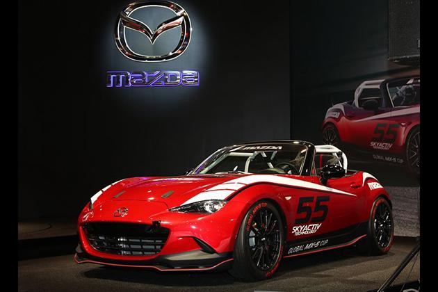 マツダ x 井原慶子、「Mazda Women in Motorsport Project 2015」