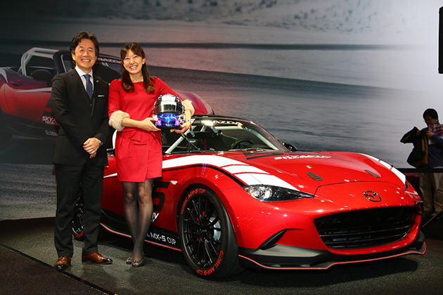 マツダ x 井原慶子、「Mazda Women in Motorsport Project 2015」