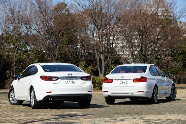 【比較】マツダ アテンザセダン クリーンディーゼル vs BMW 3シリーズディーゼル どっちが買い!?徹底比較/渡辺陽一郎