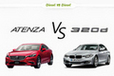 マツダ アテンザセダン クリーンディーゼル vs BMW 3シリーズディーゼル どっちが買い!?徹底比較/渡辺陽一郎