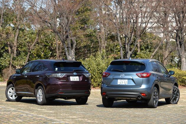 【比較】マツダ CX-5クリーンディーゼル vs トヨタ ハリアーハイブリッド どっちが買い!?徹底比較/渡辺陽一郎