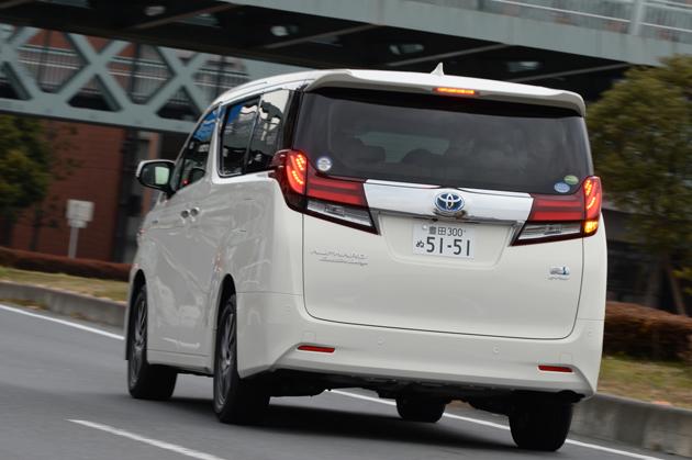 トヨタ新型「アルファード」