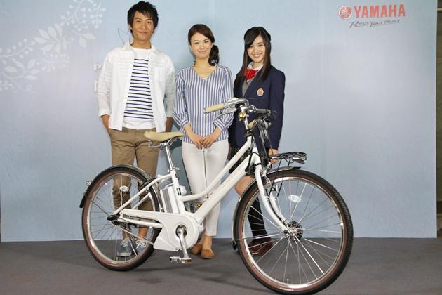 YAMAHA 電動アシスト自転車「PAS」2015年モデル記者説明会[2015/02/26・会場:メルパルク東京(東京都港区)]