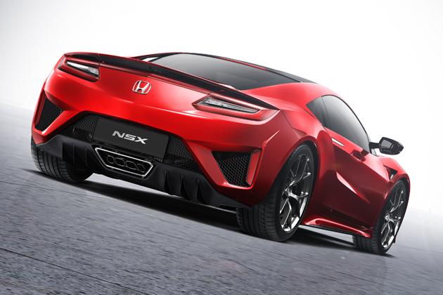 ホンダ 新型「NSX」[欧州仕様車/ジュネーブショー2015出展]