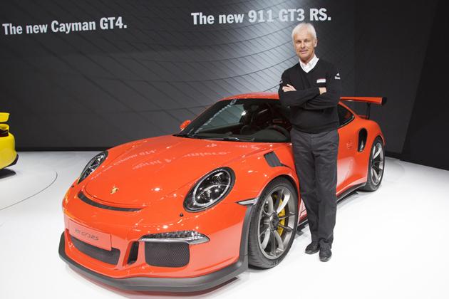 ポルシェ 新型911 GT3 RS