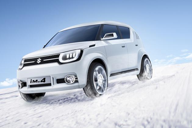 スズキ 小型4WDコンセプトカー「iM-4」(参考出品)[ジュネーブショー2015]