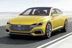 フォルクスワーゲン、新デザインのPHEV「スポーツクーペコンセプト GTE」を世界初公開【ジュネーブショー2015】