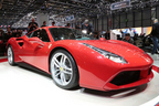 "【Part.2】現地画像一挙公開!~新型V8エンジン搭載の""フェラーリ 488 GTB""他~【ジュネーブショー2015】"