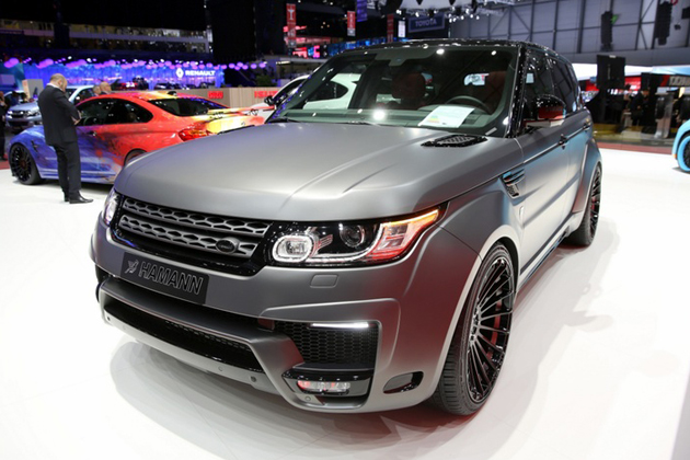 HAMANN Widebody assis Range Rover Sport