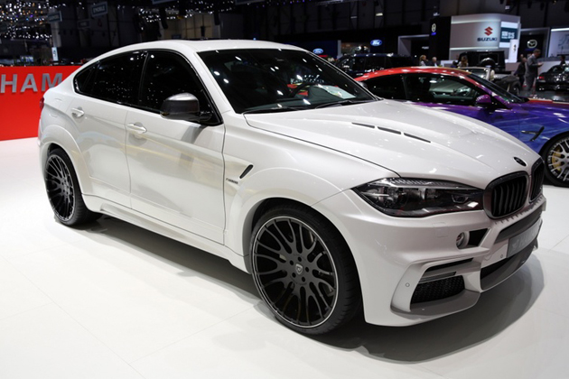 HAMANN Widebody assis BMW X6 M50d F16
