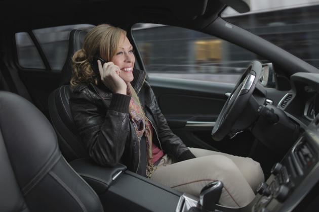 【ボルボ】 自動運転 車内イメージ