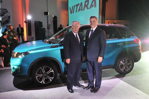 スズキ、ハンガリーで新型SUV「VITARA(ビターラ)」のラインオフ式典を実施