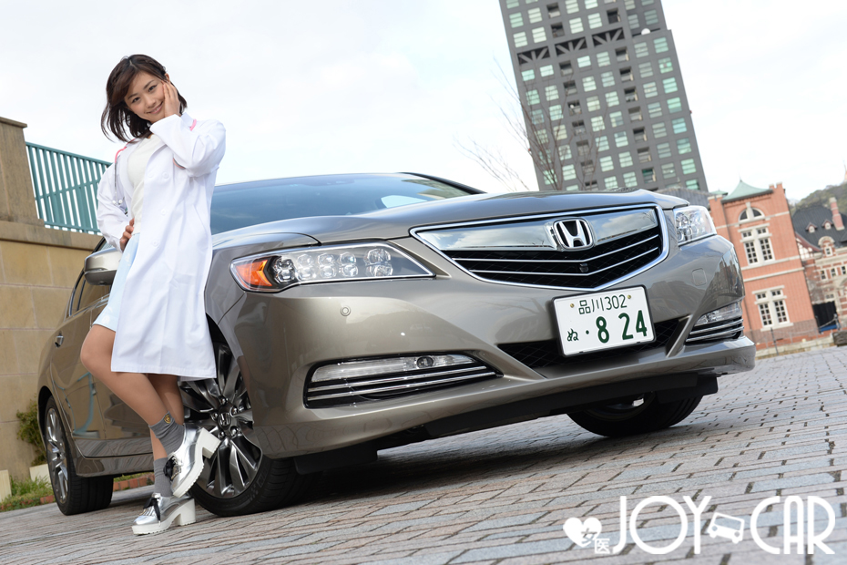 ホンダ レジェンド/安枝瞳の新型車診察しちゃうぞ!