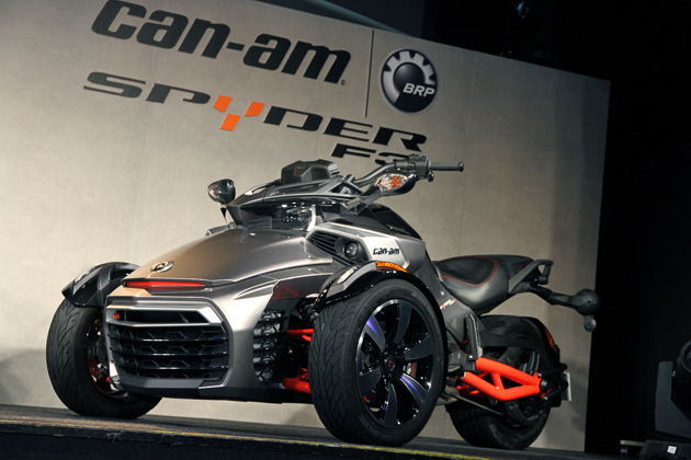 中村獅童も注文した3輪バイク「BRP Can-Am Spyder F3」発表会速報[2015/03/10・会場:LIQUIDROOM(東京都渋谷区)]