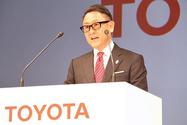 トヨタ自動車株式会社 豊田章男 代表取締役社長