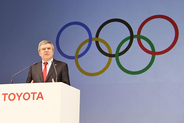 国際オリンピック委員会 トーマス・バッハ 会長