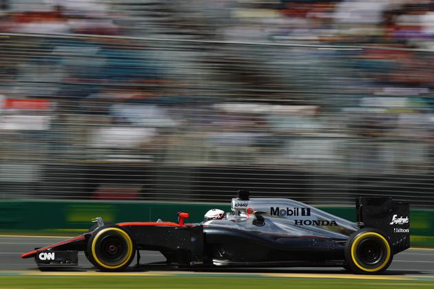 マクラーレン・ホンダ/2015 F1グランプリ 開幕戦【オーストラリア】