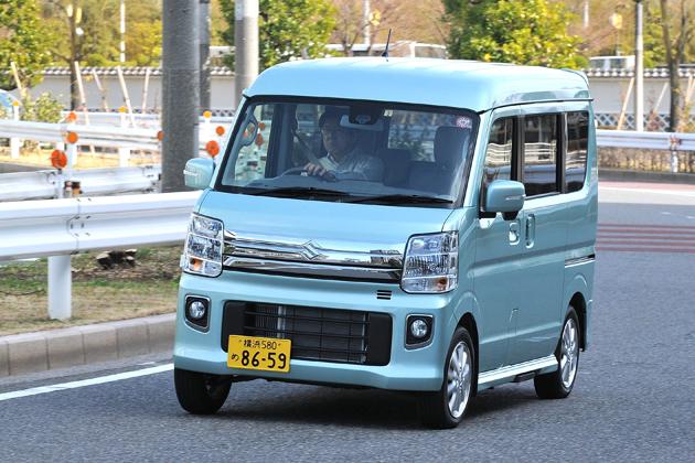 スズキ 新型エブリイワゴン 試乗レポート/渡辺陽一郎