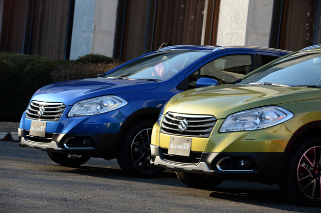 スズキ「SX4 S-CROSS」