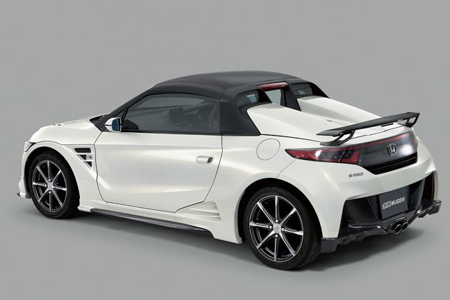 ホンダ 新型S660/無限パーツ装着車
