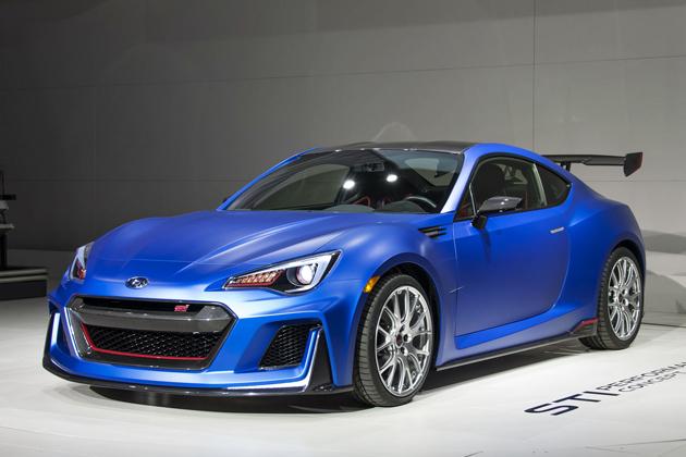 スバル 「STI Performance Concept」【ニューヨーク国際自動車ショー2015】