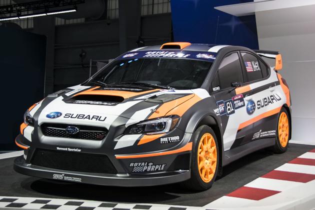 2015 STI Rally Team USA GRC【ニューヨーク国際自動車ショー2015】