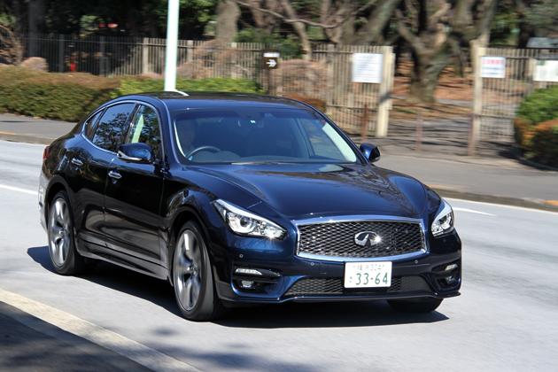 日産 新型 フーガ 3.7GT TypeS[2015年マイナーチェンジ] 試乗レポート/渡辺陽一郎