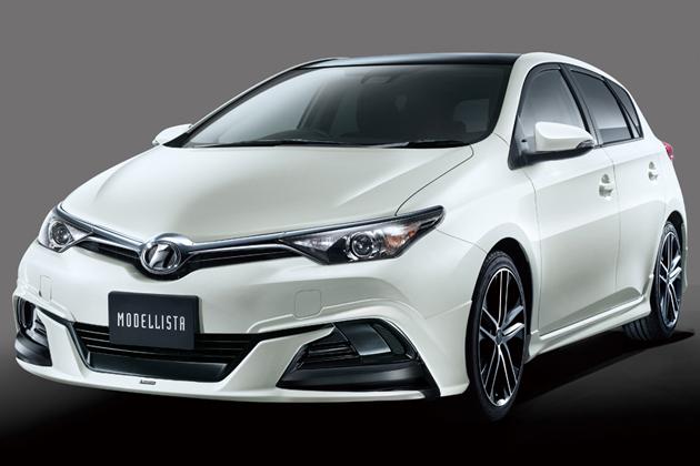 トヨタ新型オーリス モデリスタカスタムパーツ装着車