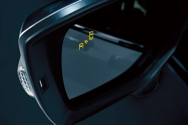 スバル レヴォーグ [2015年改良モデル]/スバルリヤビークルディテクション ドアミラー鏡面LEDインジケーター