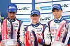 WECハイブリッド3強対決 開幕戦、トヨタ・レーシングは3位表彰台と4位